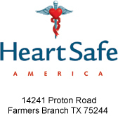 HeartSafe America - 14241 Proton Road, Farmers Branch TX 75244
