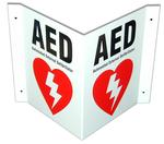 Defibtech 3 Way Sign
