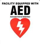 Defibtech Facility Sticker