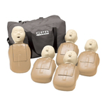CPR Prompt Infant Training Manikins - 5 Pack (Tan)