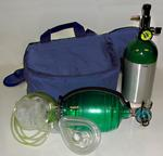 Oxy-Uni-Pak Oxygen Resuscitation Kit in Carrying Bag