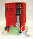 "Emergency Oxygen Resuscitation Kit ""D"" Size"